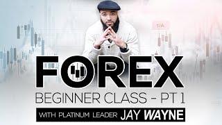 Forex Beginner Class - PT 1 with Jay Wayne