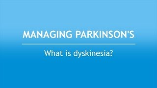 Check out our new video explaining what dyskinesia is with descriptions from