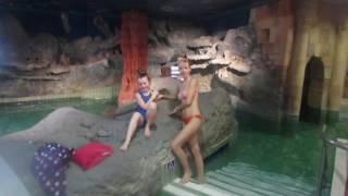 2017-01-09 Отдых в Венгрии зимой в термальном аквапарке Хайдусобосло