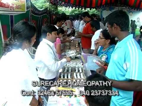 Homeopathy Camp at YSRCP- Dr Rajashekar's Surecare