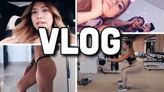 VLOG: Little booty workout🍑, Abi ball Frisur, Bachelor in Paradise Night ft. bf -Adorable Caro