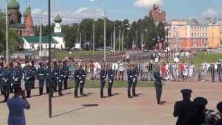 Плац-концерт Президентского полка Службы Коменданта Московского Кремля (г.Ярославль)