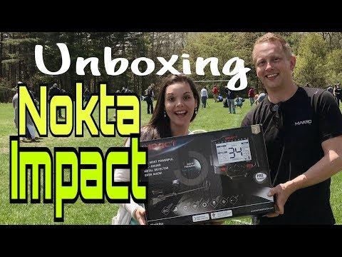 Minelab Equinox vs. Nokta IMPACT metal detector Review Unboxing detecting relic hunting I-phone X