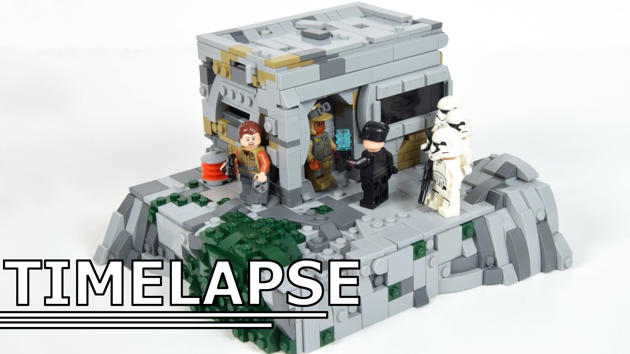 Lego First Order on Batuu | Lego Star Wars MOC Speedbuild-Timelapse