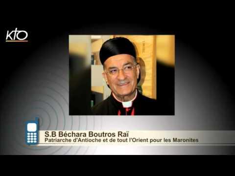#PrayForParis - Cardinal Bechara Butros Raï