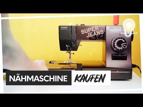 Welche Nähmaschine kaufen? 💁🏼 TOYOTA Super Jeans im Test 🏆💡