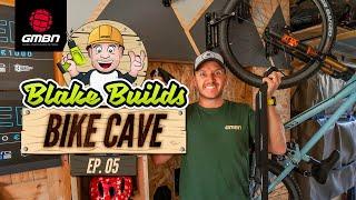 Blake Builds A Bike Cave Ep. 5 | Secure Mountain Bike Storage