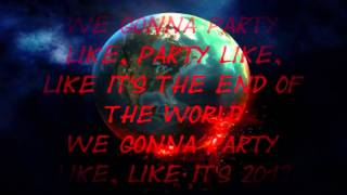 Jay Sean - 2012 (It Ain't The End) ft Nicki Minaj (High Pitched) (Lyrics)