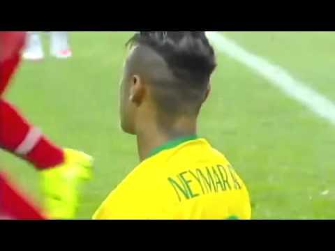 Neymar esquece polêmica na final da Copa do Rei e dá 2 chapéus em peruano