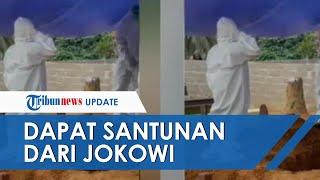 Kisah Arga, Bocah Yatim Piatu yang Azani Jenazah Orangtuanya Dapat Santunan Rp25 Juta dari Jokowi
