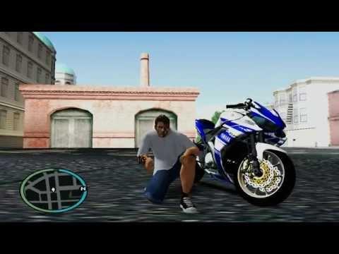Video Yamaha R25 Modif GTA SAN ANDREAS