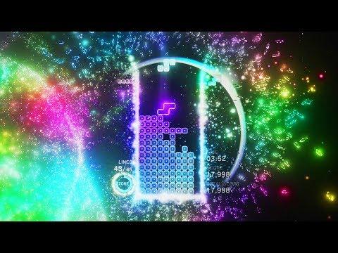 Gameplay de Tetris Effect