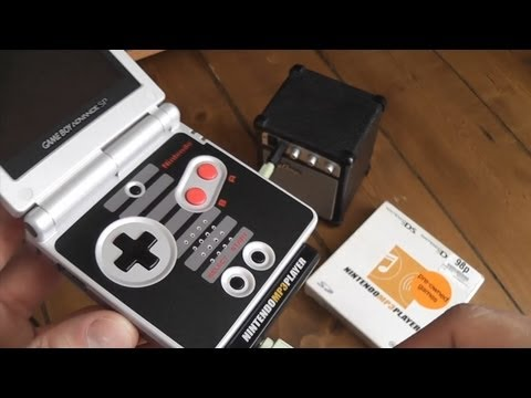 Nintendo MP3 Player – Mini Review – GBA/DS Lite Compatible Music Cartridge