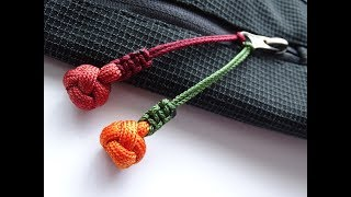 e89aa09c1d79 How to Make a Diamond Knot Paracord Zipper Pull by CBYS Paracord and More