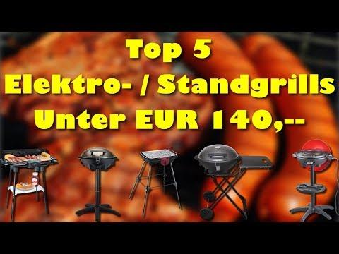 Die 5 besten Elektrogrills / Standgrills für den Balkon und die Terrasse unter EUR 140