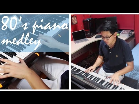 80's Pop Chart Songs on Piano | Medley of Hit Singles | Video
