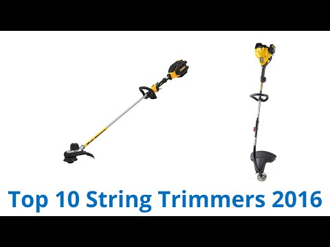 10 Best String Trimmers‎ 2016