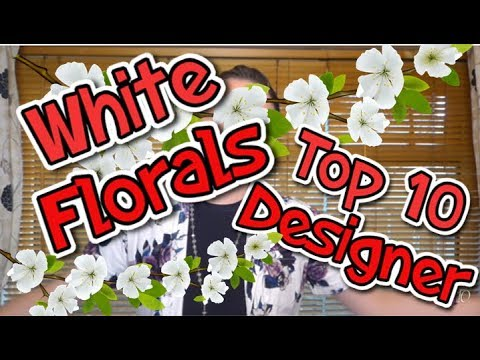 "My Top 10 Designer ""WHITE FLORAL"" Fragrances"