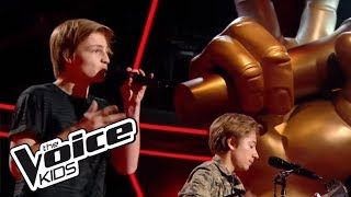 Il est où le bonheur - Christophe Maé |  Anagram | The Voice Kids 2017 | Blind Audition