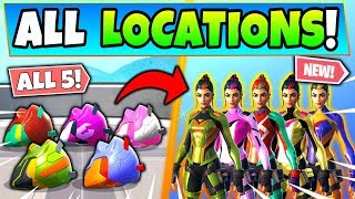 Fortnite SINGULARITY HELMETS LOCATIONS: How to Unlock Singularity Styles! (Fortnite Challenges)