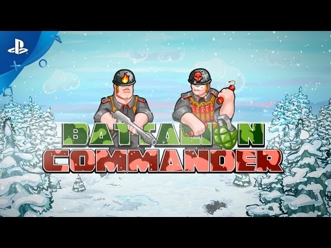 Battalion Commander - Gameplay Trailer | PS4, PS Vita thumbnail