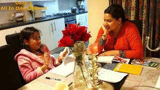 Advi's After School Routine   Kid's Study   Indian Mom's Afternoon to Night (Lunch+Dinner) Routine