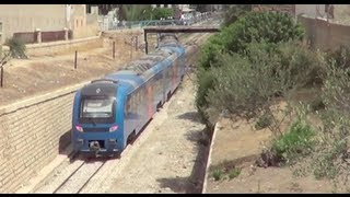 preview picture of video 'Sousse Multiple Unit Trains'
