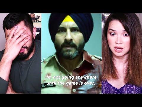 SACRED GAMES   Netflix   Saif Ali Khan   Nawazuddin Siddiqui   Trailer #2 Reaction!
