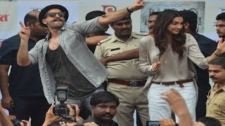 Bajirao Mastani  'Gajanana' SONG LAUNCH with Ranveer Singh, Deepika Padukone