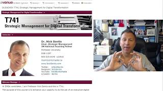 EMBA T741 - Dr. Nick Bontis - Avenue and Assignments