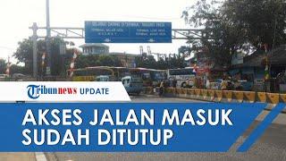 Sopir Bus Turunkan Penumpang di Pinggir Jalan Tol karena Tak Bisa Masuk Tegal akibat Local Lockdown