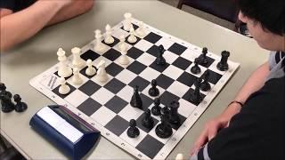Nice Sneaky 3 Piece Checkmate! Karim