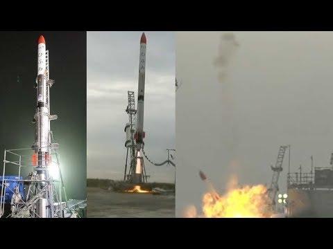 Japonská startupová raketa MOMO-2 se komicky zřítila k zemi hned po startu