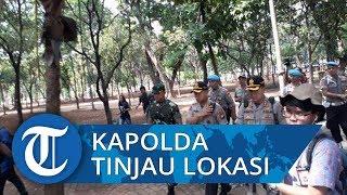 Kapolda Metro Jaya bersama Jajaranya Tinjau Lokasi Ledakan Bom di Monas