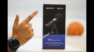 Zoom aph-1n Accessory Pack unbox and review