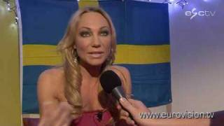 Charlotte Perrelli from Sweden is ready for Eurovision 2008!