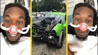 Offset Migos At The Dentist After Car Crash To Fix His Teeth!