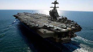 挑戰新聞軍事精華版--世界最強美國「福特級」核動力航母下水
