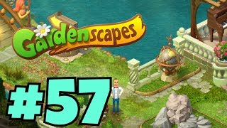 GARDENSCAPES NEW ACRES #57 Gameplay Story Playthrough | Area 10 New Castle Area Day 3