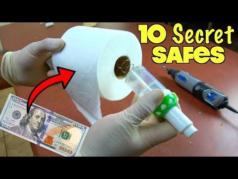10 Secret Safes You Can Easily Make At Home To Hide Money | Nextraker