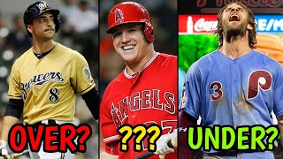 Most Overrated Player From Every MLB Team