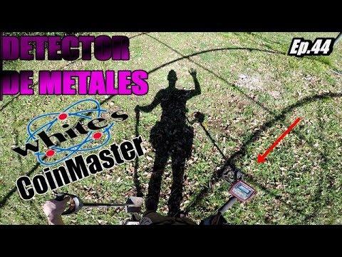Buscando TESOROS con detector de metales whites CoinMaster ...