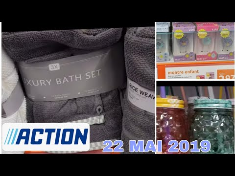 ARRIVAGE ACTION - 22 MAI 2019 PROMOS
