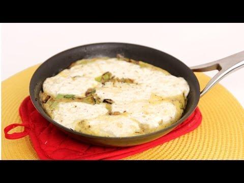 Ricotta & Leek Frittata Recipe – Laura Vitale – Laura in the Kitchen Episode 707