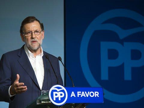 """Rajoy: """"El objetivo es formar Gobierno, no repetir elecciones y empezar a gobernar ya"""""""