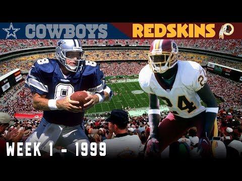 """""""The Rocket Comeback"""" (Cowboys vs. Redskins, 1999)"""