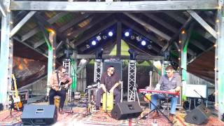 Joshua Davis Trio: Workingman's Hymn (short clip) -060615