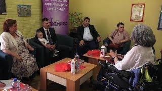 Djordjević:Uredjenje dnevnog boravka i vozilo za osobe sa invaliditetom
