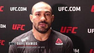 """UFC Rochester: Davi Ramos - """"Estarei pronto para lutar com qualquer um"""""""