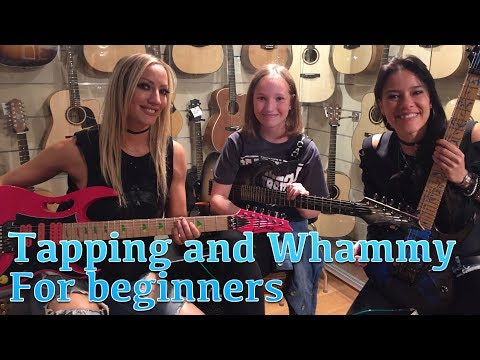 Tapping and Whammy for beginners w/ Nita Strauss and Jen Majura #TGU18